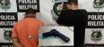 Adolescentes são detidos com arma de brinquedo após tentativa de roubo na Zona Leste