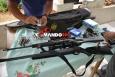 PM e Polícia Civil recuperam armas e munições roubados de colecionador em Ji-Paraná