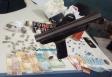 Quadrilha é presa com drogas e uma escopeta na Zona Leste de Porto Velho