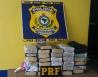 PRF registra 11 acidentes, uma morte e apreende mais de 30 Kg de droga no fim de semana