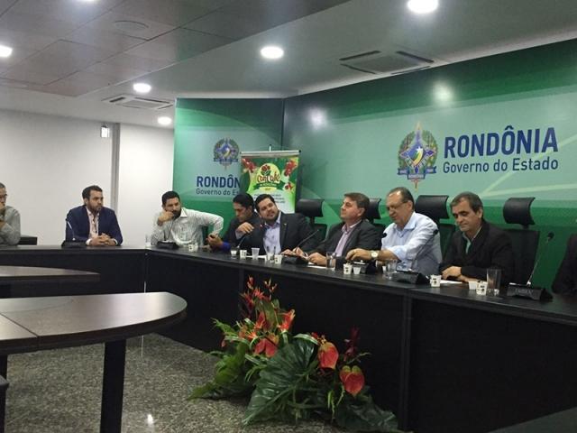 Deputado Jean Oliveira participa do lançamento do ConCafé – RO
