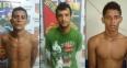 Três foragidos da Justiça são recapturados pela PM em Porto Velho