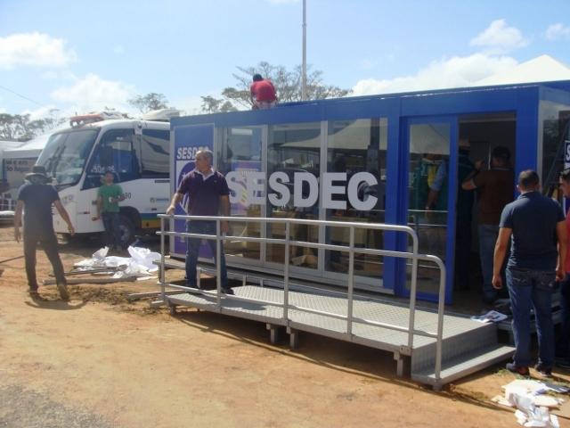 Rondônia Rural Show é 100% monitorada por câmeras