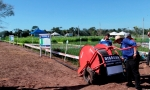 Sistema de irrigação móvel é apresentado pela primeira vez na RRS e atrai interesse de produtores