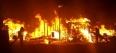 Incêndio de grandes proporções destrói fábrica de cabo de vassouras