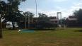 Palco já está montado para a festa do Dia das Crianças em Porto Velho