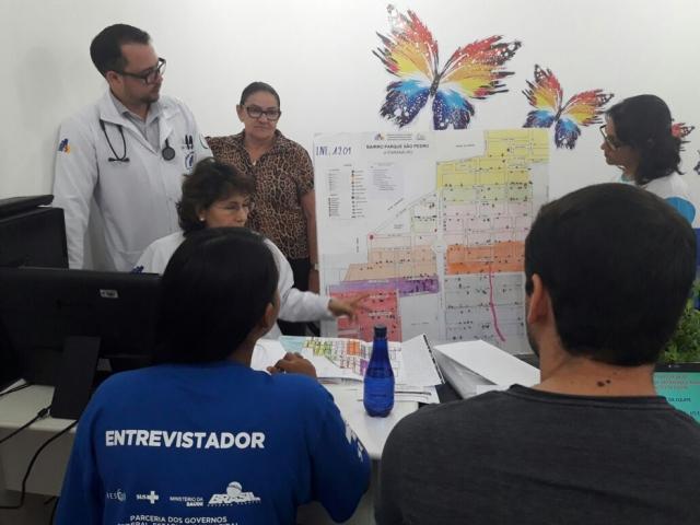 Rede Básica de Ji-Paraná passa por avaliação do Ministério da Saúde