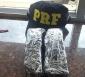 Passageiro é preso pela PRF com um quilo de cocaína em ônibus
