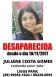 Família procura por adolescente desaparecida há três dias em Porto Velho