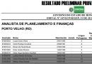 Confira o listão com o resultado do concurso da Sepog em Rondônia