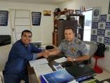 Garçon anuncia mais de 130 policiais militares para base do Ulisses Guimarães