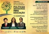Sindsef promove seminário sobre Políticas Inovadoras para Educação