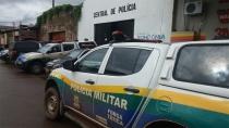 Polícia flagra ladrão dentro de clínica