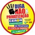 Carta aberta a população do Estado de Rondônia – Privatização da Ceron - As verdades escondidas pelo Governo Federal