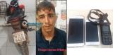 Monitorado por tornozeleira é preso por roubar moto e celulares em comércio de Porto Velho