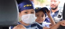 PRF realiza ação com crianças em tratamento de câncer infantil no Hospital de Base em Porto Velho