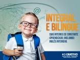 Objetivo implanta ensino integral bilíngue para educação infantil e séries iniciais em 2018