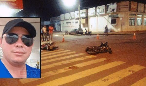 Uma pessoa morre e outra fica em estado grave após colisão entre duas motos