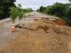 Chuvas podem aumentar cratera na BR-425, afirma PRF