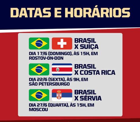 dia dos jogos do brasil