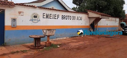 Casal de bandidos entra em escola em busca de vagas, tenta roubar e atinge vigilante com tiro no ombro