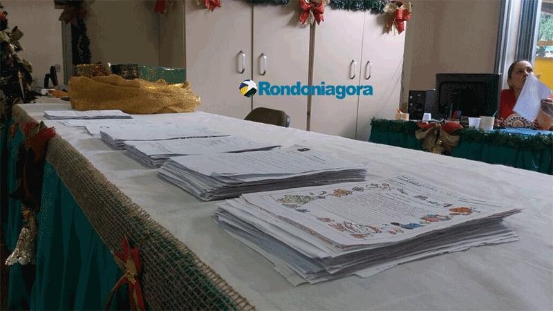 Órgãos públicos e empresas ajudam na adoção de cartinhas da campanha Papai Noel dos Correios em Rondônia
