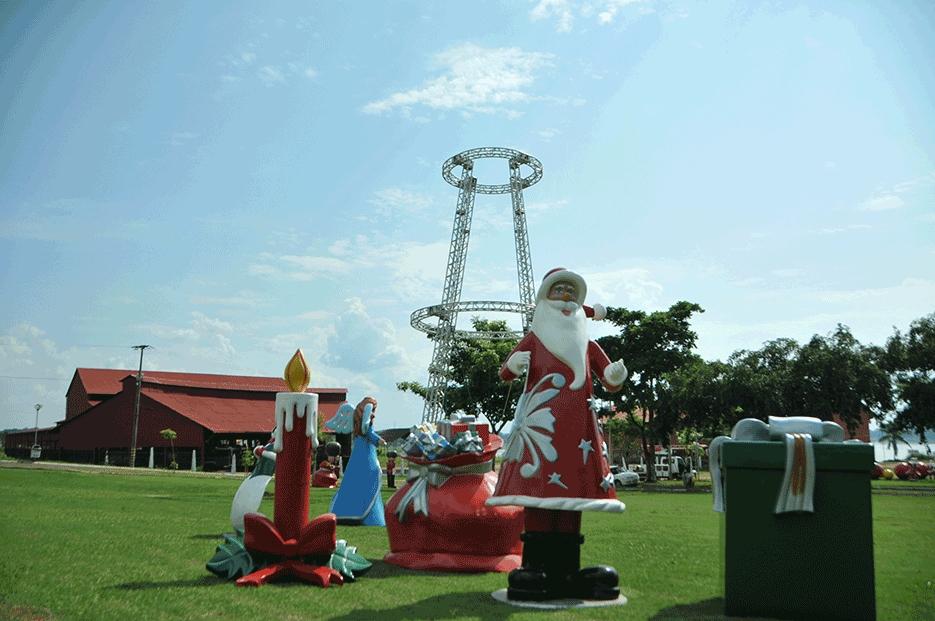 Programação de Natal oficial começa dia 10 com desfile da caravana do Papai Noel