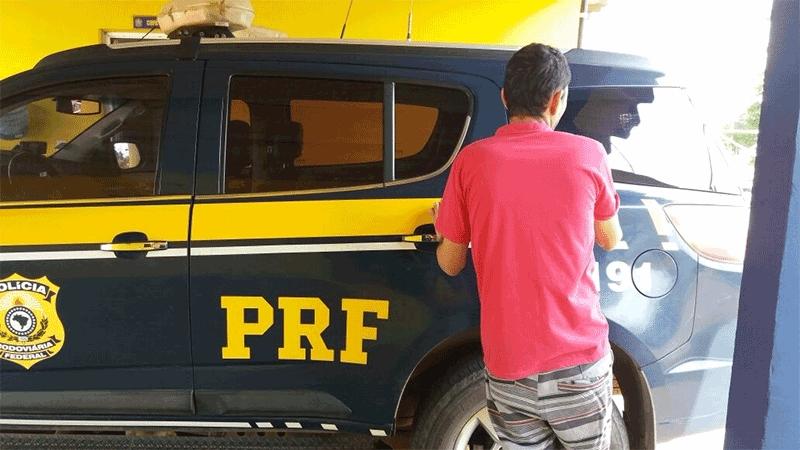 PRF prende foragido por estupro de vulnerável em Porto Velho