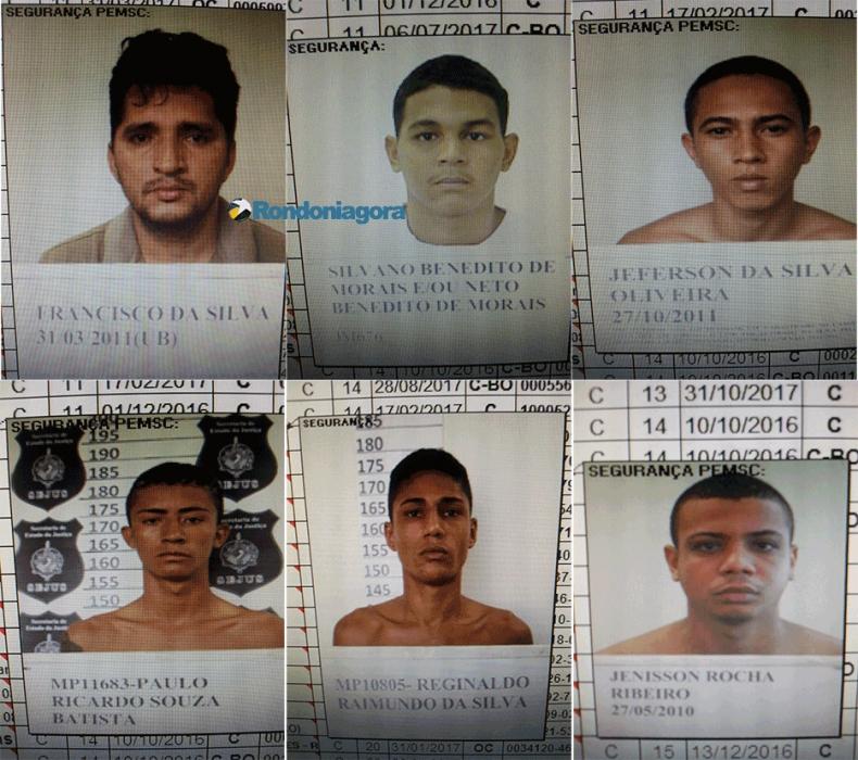 Sejus confirma fuga de vários apenados em Porto Velho