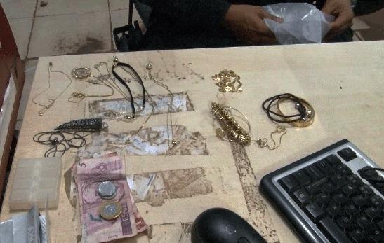 Criminosos são presos após furtarem joias no Bairro Cuniã