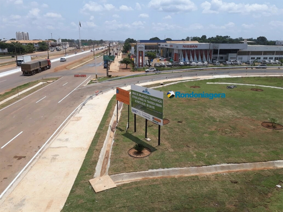 Viaduto é entregue e ministro anuncia ampliação de aeroportos de Cacoal, Ariquemes e Ji-Paraná