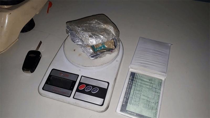 Traficante na Capital é preso com 300 gramas em residência