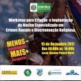 Evento discute criação de núcleo específico para crimes raciais e de intolerância religiosa