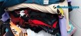 Homem preso com sacola assume ter roubado loja com outros 7 criminosos