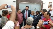 Jean Oliveira recebe agradecimentos de servidores da ALE contemplados com aprovação de Projeto de Lei