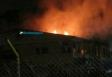 Incêndio destrói parte do centro de correição da PM, mas não há vítimas