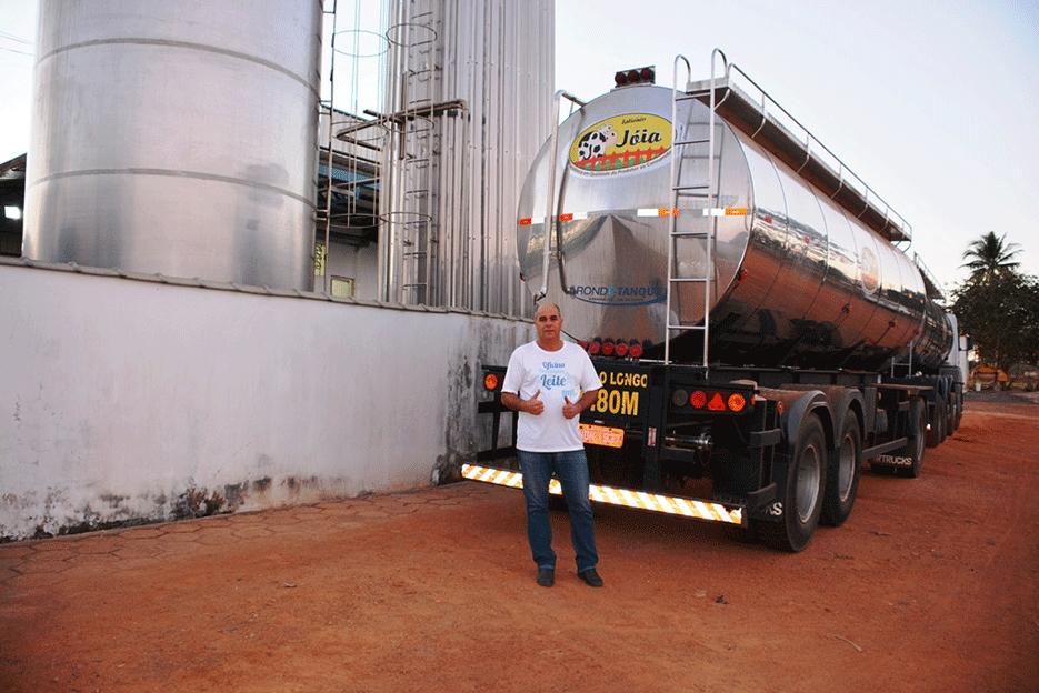 Remuneração extra melhora qualidade do leite em Rondônia