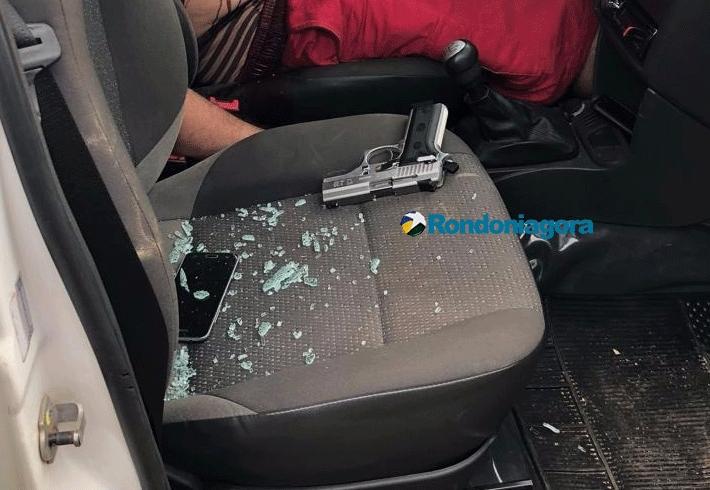 Mulher atacada a tiros pelo ex-marido segue estável e ainda não sabe que ele se matou