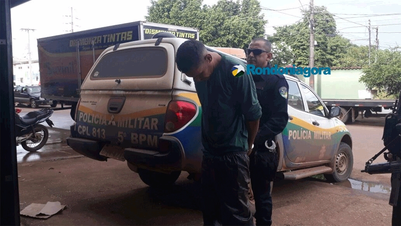 Bandido que fazia assaltos em moto acaba preso
