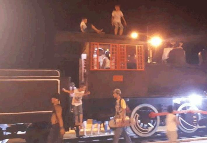 Depois de baderna em réplica de trem, vigias atuarão durante madrugada no Espaço Alternativo