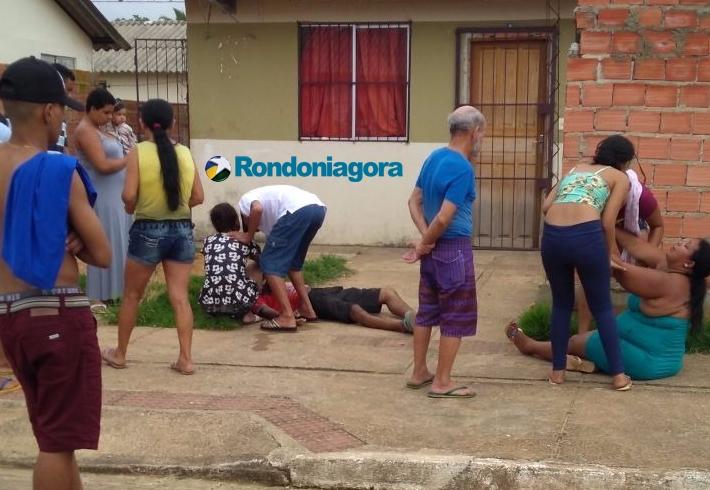 Apenado ataca homem a pauladas durante bebedeira em Porto Velho