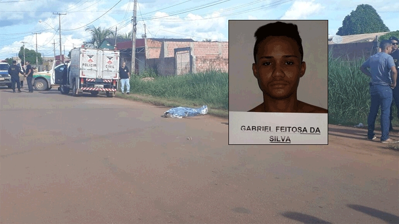 Adolescente é morto a tiros após tentativa de roubo