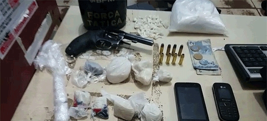 Trio é preso por tráfico e com arma na Zona Leste de Porto Velho