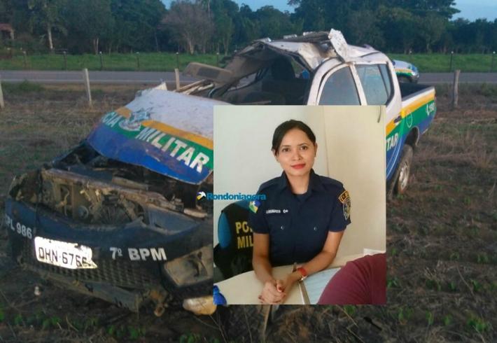 Policial militar morre e outro fica em estado grave em acidente