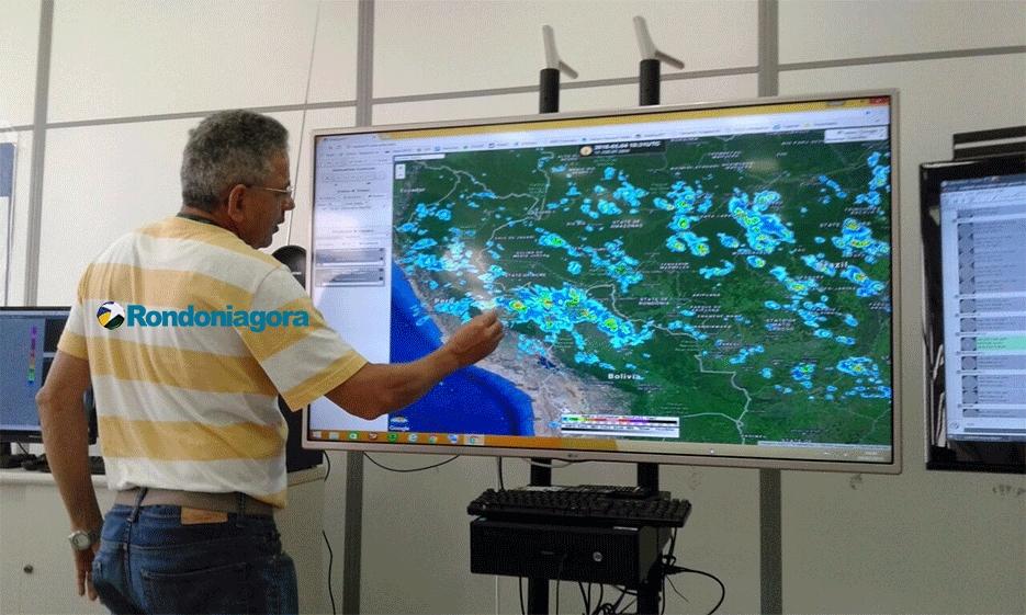 Chuva desta quinta-feira em Porto Velho corresponde a mais de 35% do esperado para janeiro