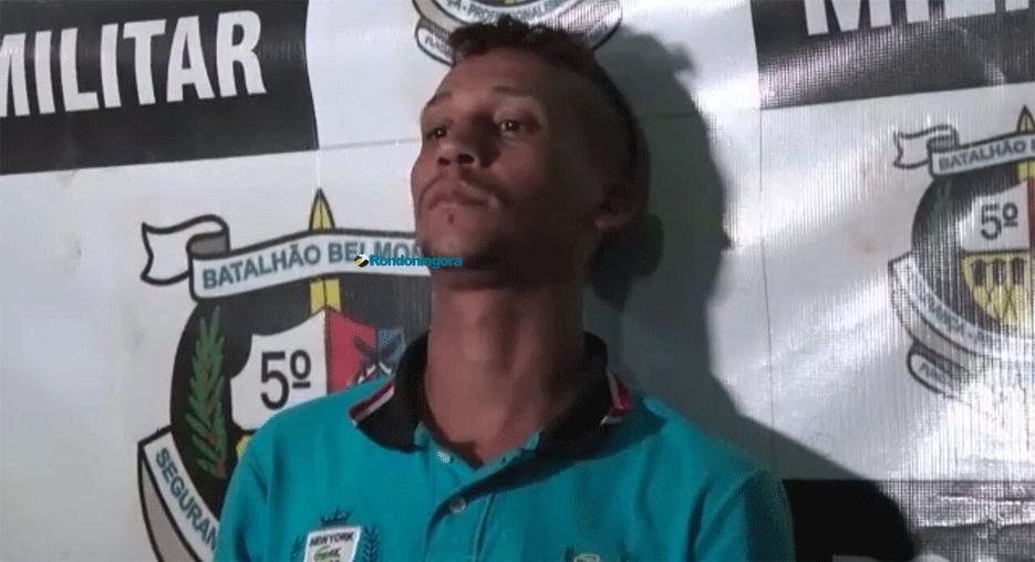 Foragido é recapturado na Zona Leste de Porto Velho