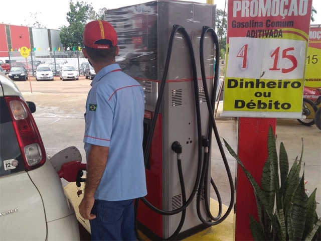 Gasolina e diesel aumentam mais uma vez a partir de quinta
