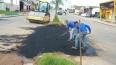 Semosp intensifica trabalhos de tapa-buraco em Ji-Paraná