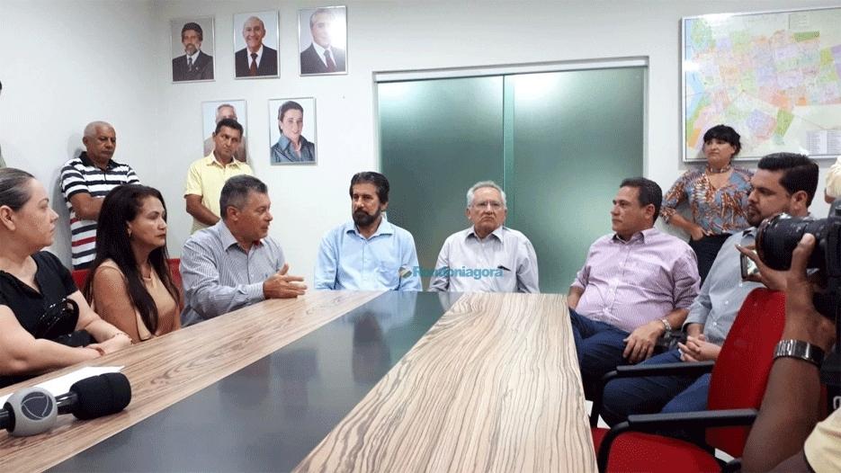 Confúcio Moura confirma intenção em disputar o Senado pelo MDB