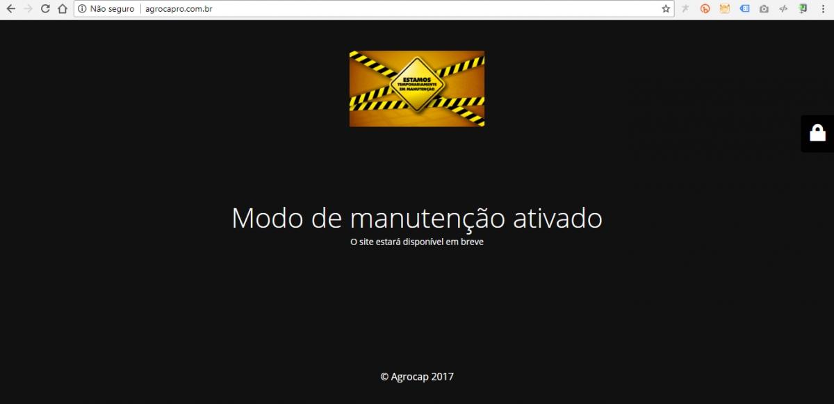 """Após sorteios suspeitos, AgroCap anuncia """"férias por tempo indeterminado"""""""